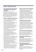 Sony DSC-W220 - DSC-W220 Istruzioni per l'uso Ceco - Page 6