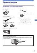 Sony DSC-W220 - DSC-W220 Istruzioni per l'uso Polacco - Page 7