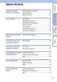Sony DSC-W390 - DSC-W390 Istruzioni per l'uso Turco - Page 7