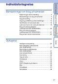 Sony DSC-W390 - DSC-W390 Istruzioni per l'uso Danese - Page 5