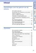 Sony DSC-W390 - DSC-W390 Guida all'uso Olandese - Page 5