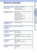 Sony DSC-W390 - DSC-W390 Istruzioni per l'uso Portoghese - Page 7