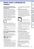 Sony DSC-W390 - DSC-W390 Guida all'uso Portoghese - Page 3
