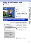 Sony DSC-WX1 - DSC-WX1 Istruzioni per l'uso Spagnolo - Page 2