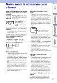 Sony DSC-WX1 - DSC-WX1 Istruzioni per l'uso Spagnolo - Page 3