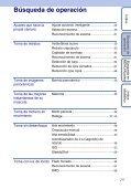 Sony DSC-WX1 - DSC-WX1 Istruzioni per l'uso Spagnolo - Page 7