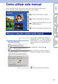 Sony DSC-WX1 - DSC-WX1 Istruzioni per l'uso Portoghese - Page 2