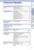 Sony DSC-WX1 - DSC-WX1 Istruzioni per l'uso Portoghese - Page 7