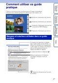 Sony DSC-WX1 - DSC-WX1 Istruzioni per l'uso Francese - Page 2