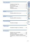 Sony DSC-WX1 - DSC-WX1 Istruzioni per l'uso Francese - Page 5
