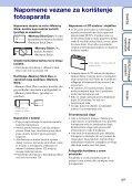 Sony DSC-WX1 - DSC-WX1 Istruzioni per l'uso Croato - Page 3