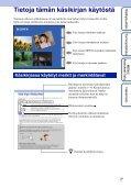 Sony DSC-WX1 - DSC-WX1 Istruzioni per l'uso Finlandese - Page 2