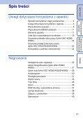 Sony DSC-W350D - DSC-W350D Guida all'uso Polacco - Page 5