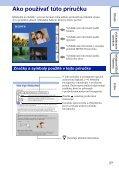 Sony DSC-WX1 - DSC-WX1 Istruzioni per l'uso Slovacco - Page 2