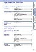 Sony DSC-WX1 - DSC-WX1 Istruzioni per l'uso Slovacco - Page 7