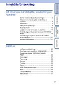 Sony DSC-W350D - DSC-W350D Guida all'uso Svedese - Page 4