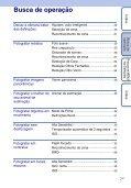 Sony DSC-W350D - DSC-W350D Istruzioni per l'uso Portoghese - Page 7