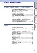 Sony DSC-W350D - DSC-W350D Istruzioni per l'uso Spagnolo - Page 5