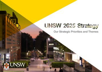 Our Strategic Priorities and Themes