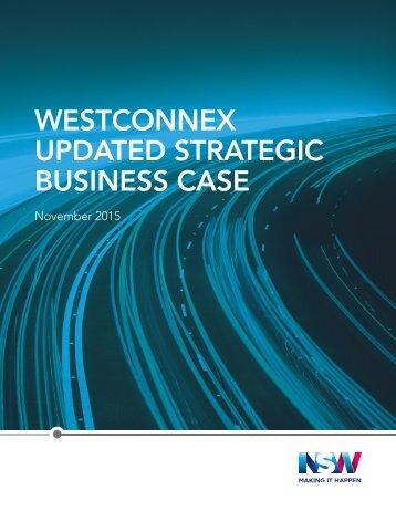 WESTCONNEX UPDATED STRATEGIC BUSINESS CASE
