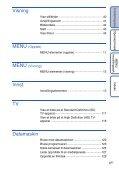 Sony DSC-HX5V - DSC-HX5V Istruzioni per l'uso Norvegese - Page 6