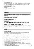 Sony DSC-HX60 - DSC-HX60 Istruzioni per l'uso Croato - Page 3