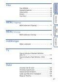 Sony DSC-HX5V - DSC-HX5V Istruzioni per l'uso Svedese - Page 6