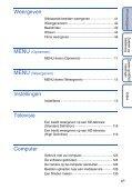 Sony DSC-HX5V - DSC-HX5V Istruzioni per l'uso Olandese - Page 6