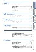 Sony DSC-HX5V - DSC-HX5V Istruzioni per l'uso Danese - Page 6