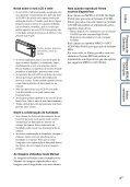 Sony DSC-TX7 - DSC-TX7 Istruzioni per l'uso Portoghese - Page 4