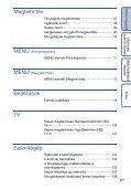 Sony DSC-TX7 - DSC-TX7 Istruzioni per l'uso Ungherese - Page 6