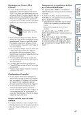 Sony DSC-TX7 - DSC-TX7 Istruzioni per l'uso Francese - Page 4