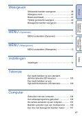 Sony DSC-TX7 - DSC-TX7 Istruzioni per l'uso Olandese - Page 6