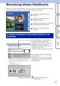 Sony DSC-TX7 - DSC-TX7 Istruzioni per l'uso Tedesco - Page 2
