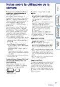 Sony DSC-TX7 - DSC-TX7 Istruzioni per l'uso Spagnolo - Page 3