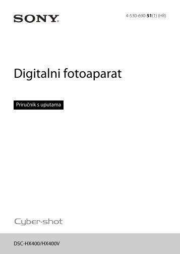 Sony DSC-HX400V - DSC-HX400V  Croato