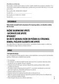 Sony DSC-HX400V - DSC-HX400V  Croato - Page 3