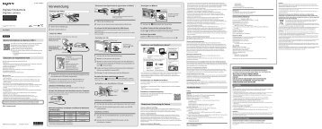 Sony DSC-W800 - DSC-W800 Istruzioni per l'uso Tedesco