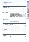 Sony DSC-S1900 - DSC-S1900 Istruzioni per l'uso Olandese - Page 5