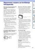 Sony DSC-S1900 - DSC-S1900 Istruzioni per l'uso Croato - Page 3