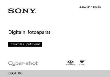 Sony DSC-H300 - DSC-H300 Istruzioni per l'uso Bosniaco