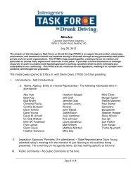 2012 ITFDD 07 20 12 Minutes.pdf - Colorado Department of ...