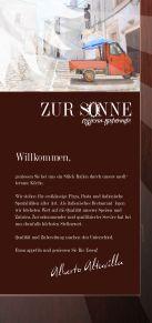 Speisekarte Pizzeria-Ristorante Zur Sonne - Page 2