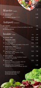 Speisekarte Pizzeria-Ristorante Zur Sonne - Seite 3