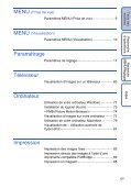 Sony DSC-W190 - DSC-W190 Istruzioni per l'uso Francese - Page 5