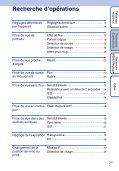 Sony DSC-W190 - DSC-W190 Istruzioni per l'uso Francese - Page 7