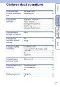 Sony DSC-W190 - DSC-W190 Istruzioni per l'uso Rumeno - Page 7