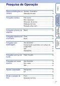 Sony DSC-W190 - DSC-W190 Istruzioni per l'uso Portoghese - Page 7