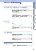 Sony DSC-S1900 - DSC-S1900 Istruzioni per l'uso Svedese - Page 4