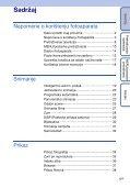 Sony DSC-W370 - DSC-W370 Istruzioni per l'uso Croato - Page 5